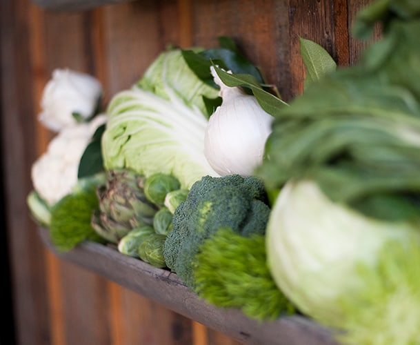 Fresh Vegetables and Produce